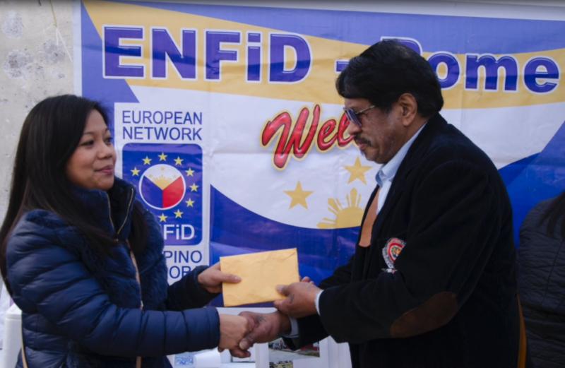 Pia Gonzalez Abucay, Special Media FEDERFIL Europe OFW Awardee 2017