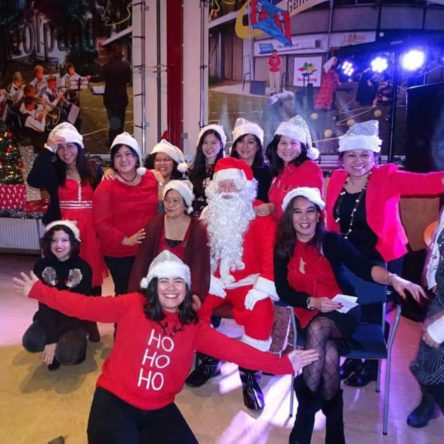 Season's Greetings from ENFiD NL with Santa and his reinDears!