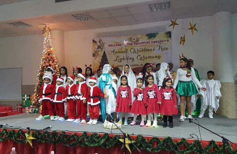 Philippine Embassy Annual Christmas Tree Lighting Ceremony