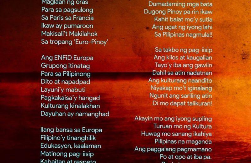 Diwang Pilipino, Tatak Euro-Pinoy