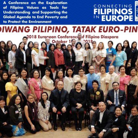 Diwang Pilipino, Tatak Euro-Pinoy Conference Statement