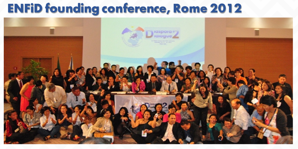 ENFiD founding conference, Rome 2012
