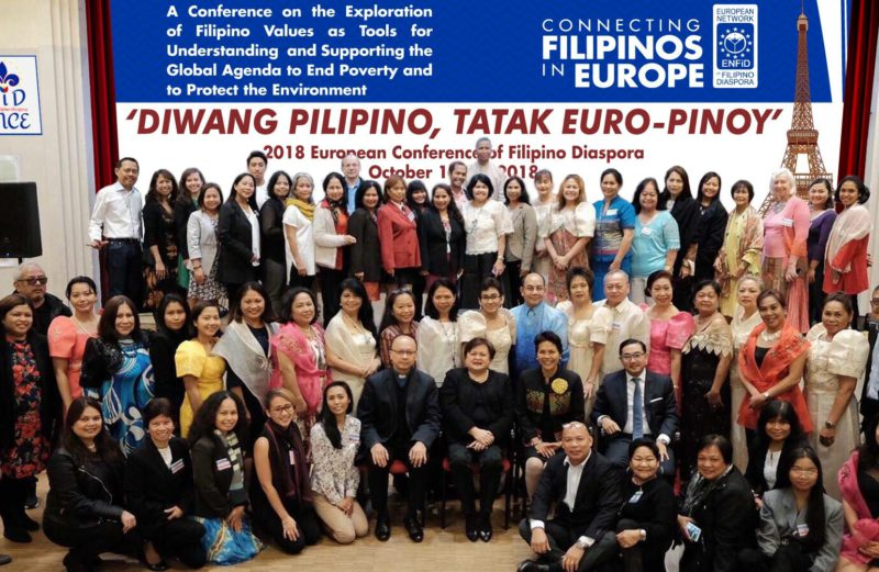 Diwang Pilipino, Tatak Euro-Pinoy Conference Statement